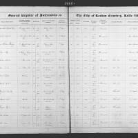 Burial Register 4 - October 1860 to June 1861