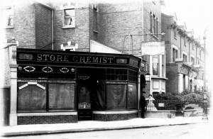 Merton Road: Chemist shop