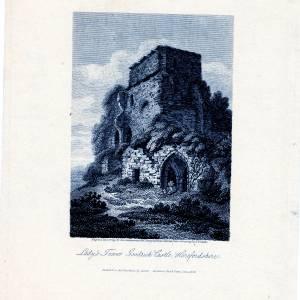 Lady's Tower, Goodrich Castle, 1808