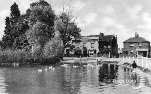 Three Kings Pond & Public House, Mitcham