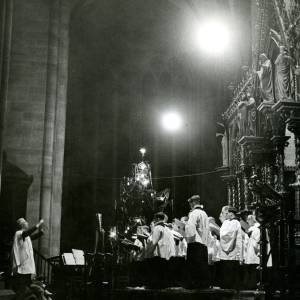 An evening Cathedral service.