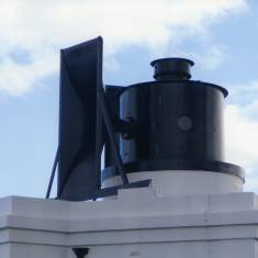 Foghorn at Souter Lighthouse