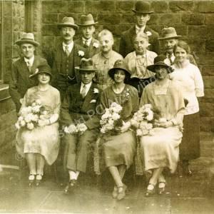 Wedding Of Ernest Edwards And Marion Fullilove January 1926.