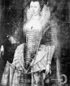 Lady Raleigh (Bess Throckmorton)  (1552 - c.1647)