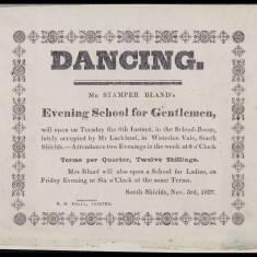 Mr Stamper Bland, Evening School for Gentlemen
