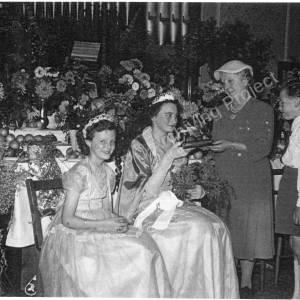 Burncross Methodist Chapel Sunday School Queen c 1956