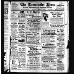 Leominster News - August 1914