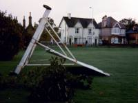 Cricket Green, Mitcham: Storm Damage