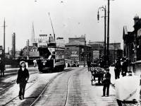 Tram on The Boadway, Wimbledon