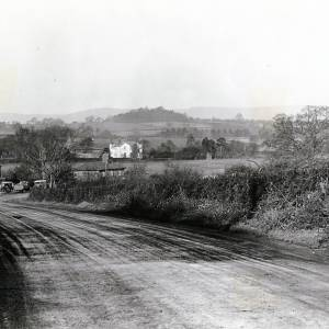 Callow hill, looking north, 1928