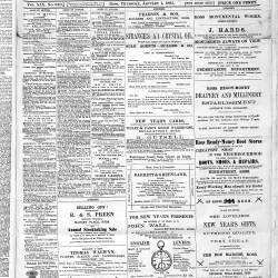 Ross Gazette - 1885
