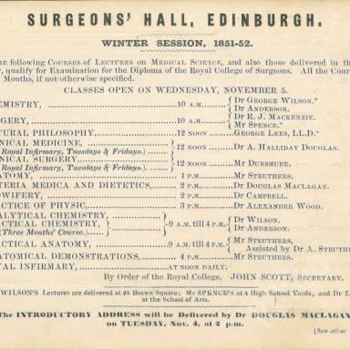Surgeons' Hall, Edinburgh