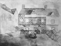 House, corner Killicks Lane (now St Marks Rd/Upper Green East), Mitcham: Demolished 1857