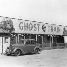Ghost Train at the amusement park