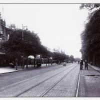 Lord Street, tram lines