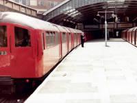 Morden Underground Station platform