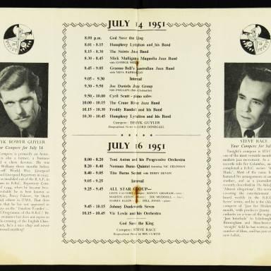 National Federation of Jazz Organisations, Royal Festival Hall - 1955 010