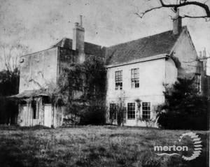 Abbey House, Merton:. Rear view