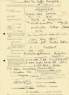 RMC Form 18A Personal Detail Sheets Feb & Sept 1933 Intake - page 181