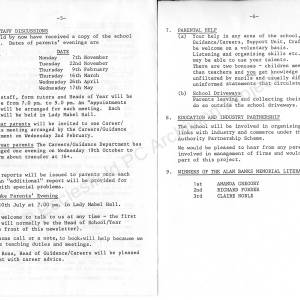 Ecclesfield School Newsletter, September 1988 005.jpg