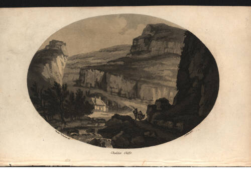 Cheddar cliffs, 1797, Cheddar
