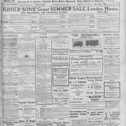 Hereford Journal - 18th July 1914