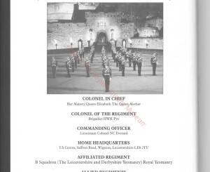 9th-12th Lancers, 1996
