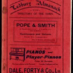 Tilley's Ledbury Almanack 1927