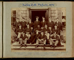 Photograph Album (1898-1905)-008 Warden & Prefects 1899.jpg