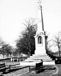 Wimbledon War Memorial, Parkside