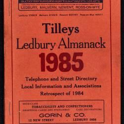 Tilley's Ledbury Almanack 1985