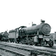 Class O1 and Q6 at Tyne Dock
