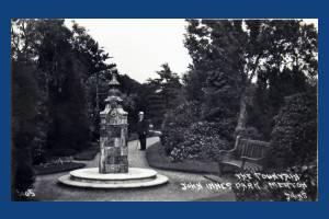 John Innes Park, Merton Park: The Fountain