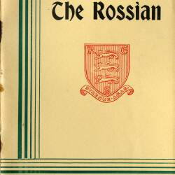 The Rossian, Autumn term 1966