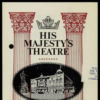 His Majesty's Theatre, Aberdeen, November 1965 - P02