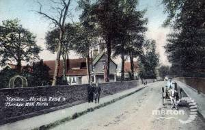 Morden Hall Farm & Morden Road