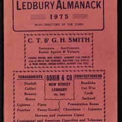 Tilley's Ledbury Almanack 1975