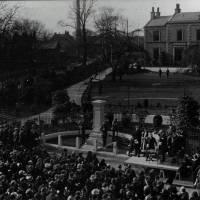 Litherland War Memorial Unveiling