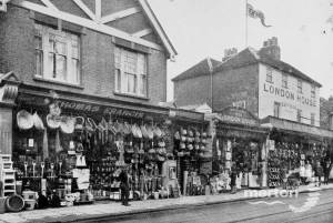 London House, London Road: the Francis Family store