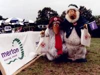 Wimbledon Common: Wombles