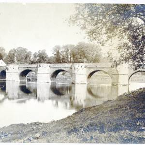 Wilton Bridge, Ross, pre 1890