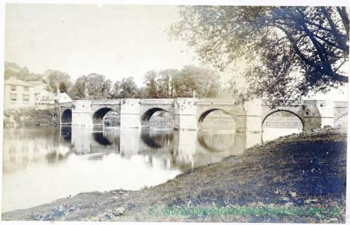 Wilton Bridge, Ross, pre 1890