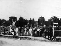 Cricketers on the Green, Mitcham