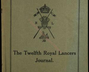 12th Lancers, 1911 October