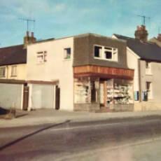 1960s Ted Warren's Shop in Bedford Road Houghton Regis