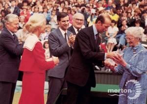 Ladies' Centenary Championships,  The All England Lawn Tennis Club, Wimbledon