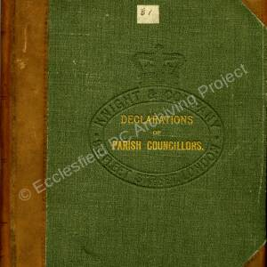 Ecclesfield Parish Council Declarations of Office 1895-1898