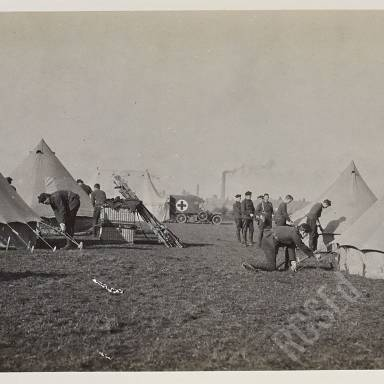 Equipping tents