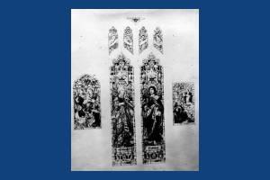 Window designs for St. Mary's Church, Merton Park