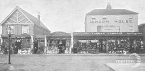 London Road, London House, Mitcham